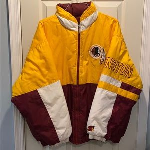 Vintage Starter Washington Redskins Puffer Jacket
